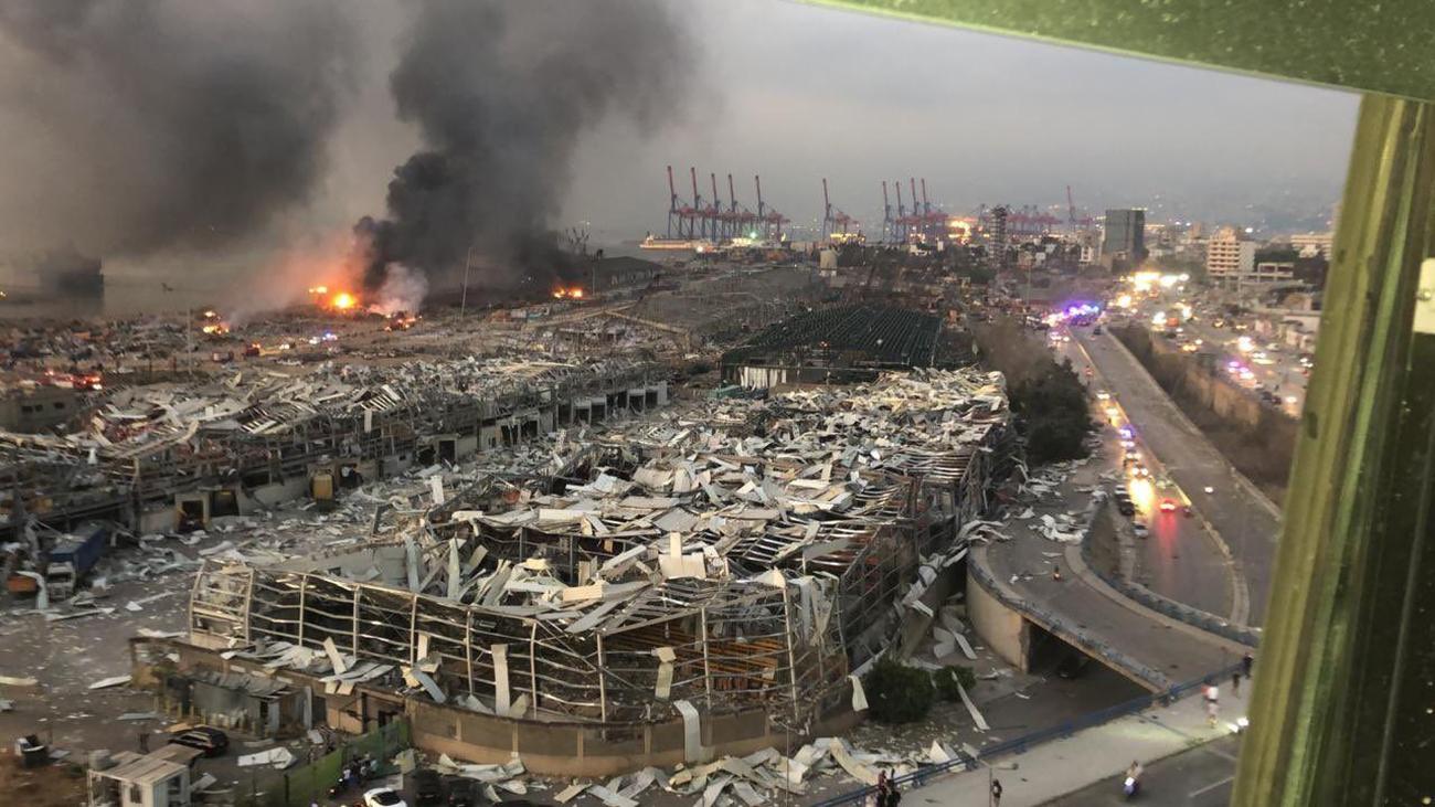 انفجار در بیروت 1