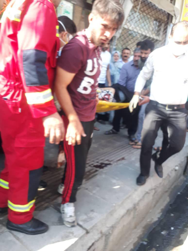 تهران خودکشی دختر