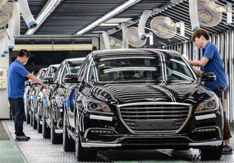 کاهش صادرات خودرو کره جنوبی برای چهارمین ماه متوالی