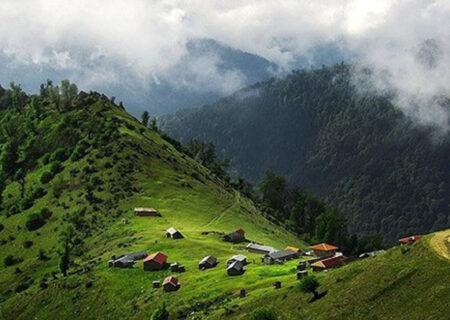 تصاویر طبیعت بکر ارتفاعات املش گیلان