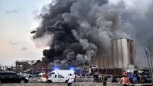 صدای انفجار در پایتخت ایالت جزیره نیکوزیا قبرس نیز شنیده شد (فاصله بین نیکوزیا و بیروت در حدود ۲۴۰ کیلومتر است).