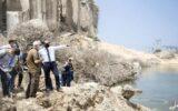 وزیر خارجه آلمان به بیروت رفت + عکس