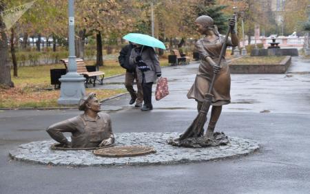 عجیب ترین مجسمه های روسیه! + عکس