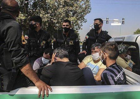 بازداشت ۲۸۰ گنده لات در استان فارس