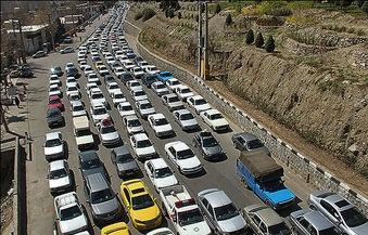 آخرین وضعیت جادههای کشور/ ترافیک سنگین در دو مسیر