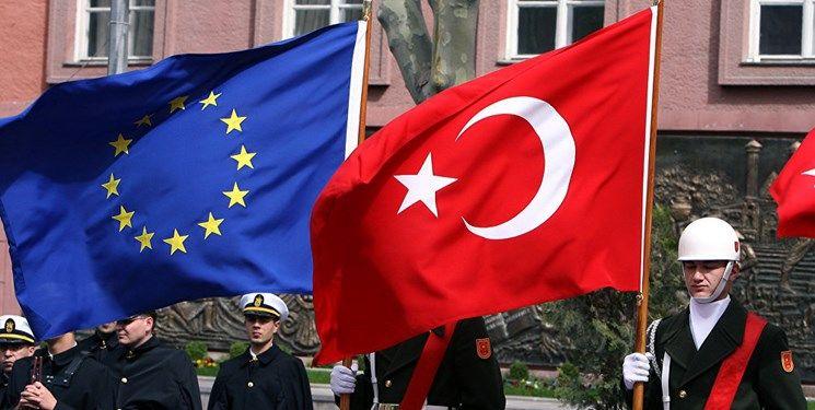تهدید ترکیه به اعمال تحریم توسط اتحادیه اروپا