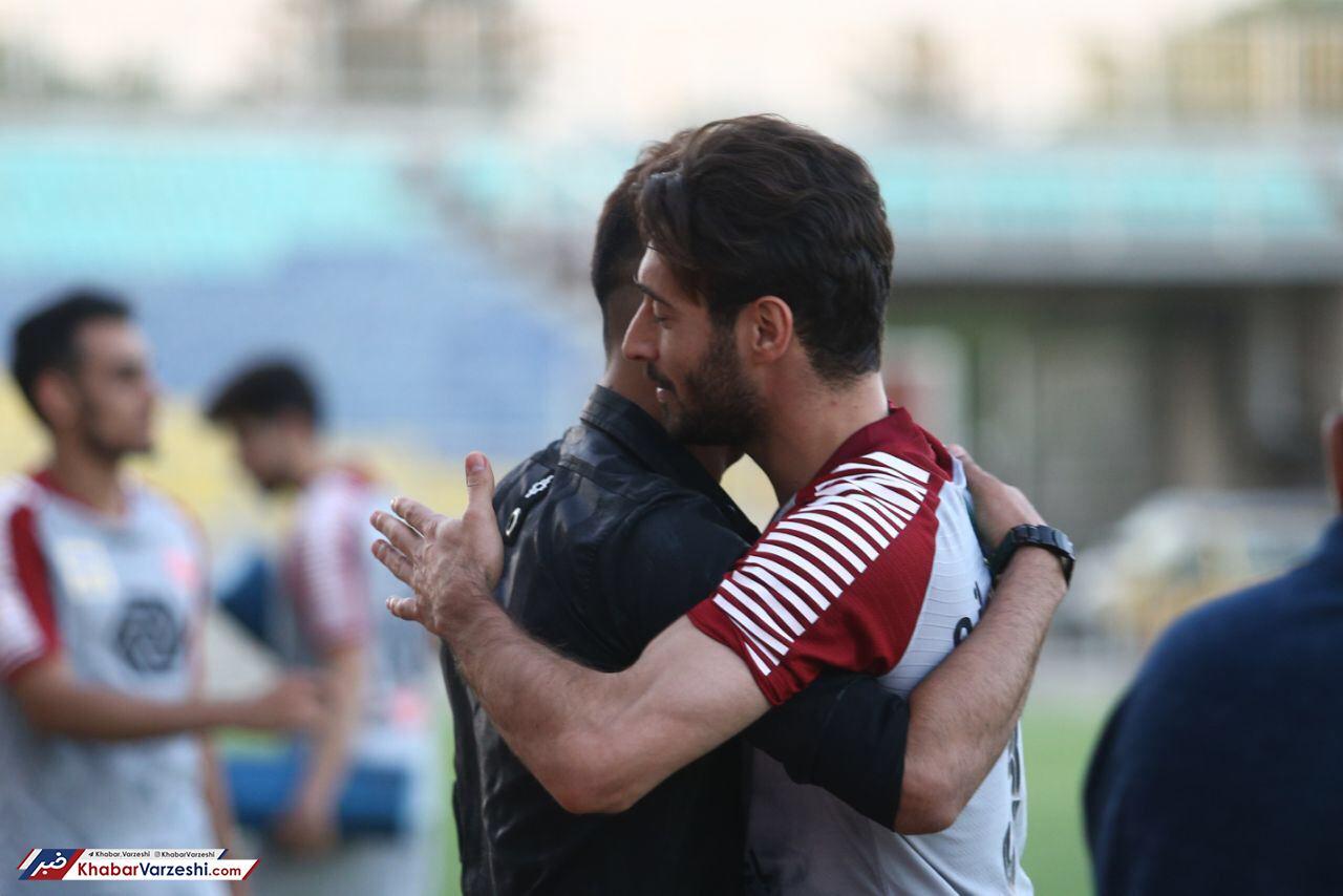تمرین شاگردان گلمحمدی با دو بازیکن جدید