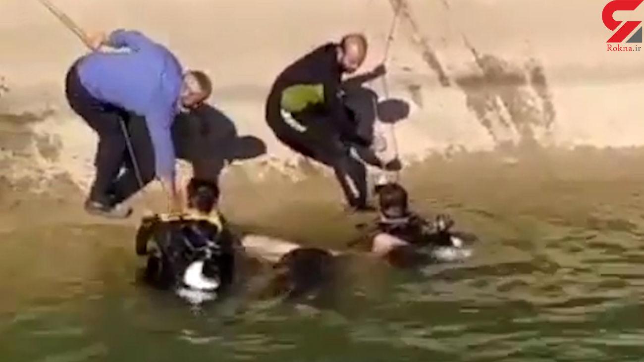 جنازه نوجوان غرق شده در رودخانه کارون از آب گرفته شد