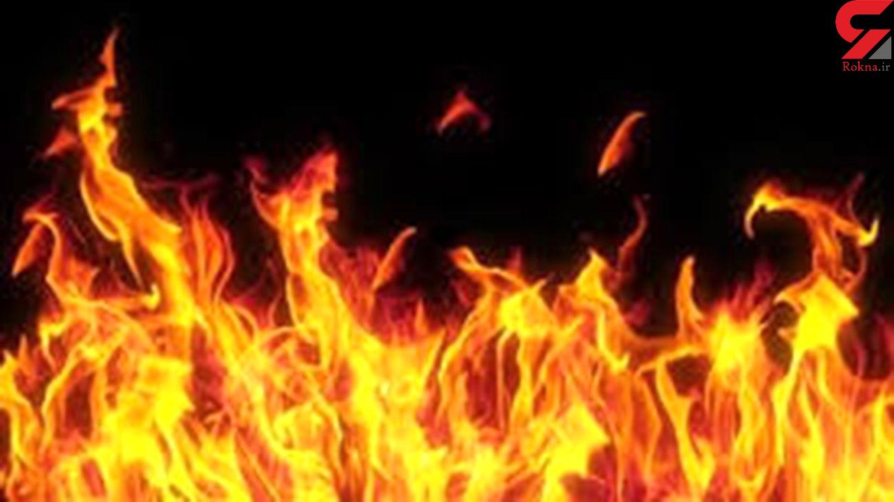 خاموش شدن شعله های آتش در تالاب میانگران