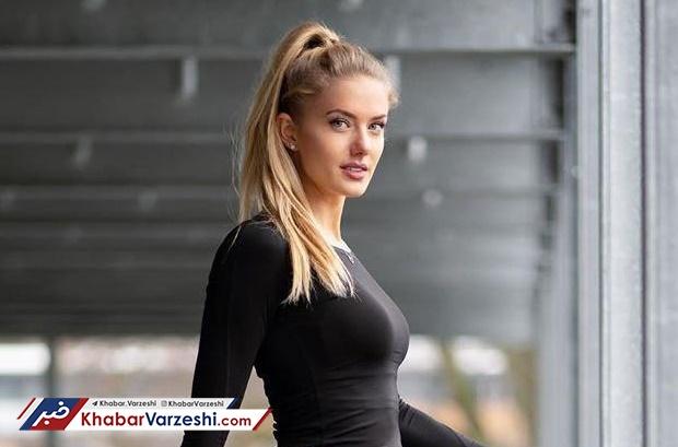 دختر ملیپوش آلمانی، مربی بدنساز دورتموند آلیسا اشمیت دختر ملی پوش آلمانی، مربی بدنساز دورتموند!!!+ عکس ها!!!