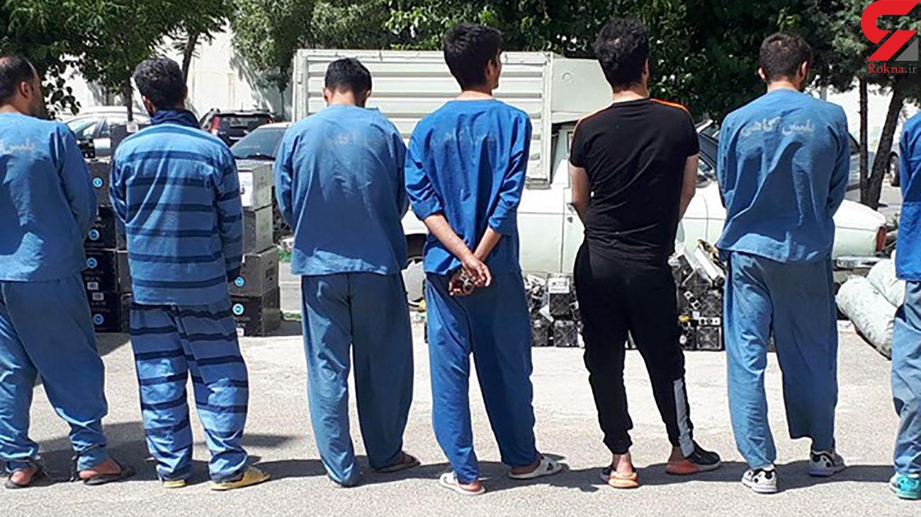 دستگیری ۷۰۵ قاچاقچی ددر خوزستان