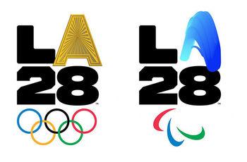 رونمایی از  لوگوی بازی های المپیک و پارالمپیک لس آنجلس ۲۰۲۸+ عکس