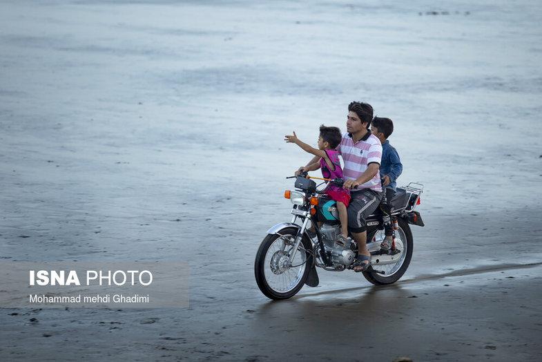 ساحل زیبای خواجه عطا در بندرعباس +  عکس