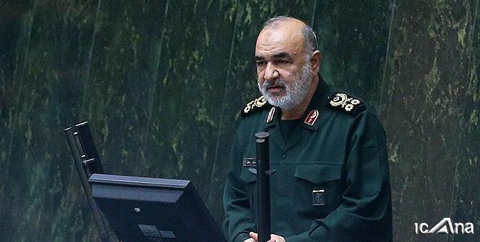 سردار سلامی: جنگ ایران و عراق نابرابرترین جنگ تاریخ بود/ غیظ آمریکا دائمی است