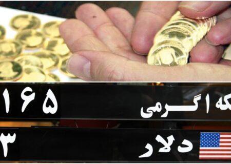پیشبینی قیمت سکه امروز دوشنبه/ سکه منتظر یک چشمک
