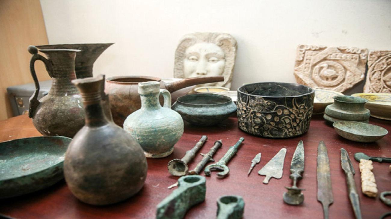 کشف عتیقه جات قبل از میلاد در سنندج