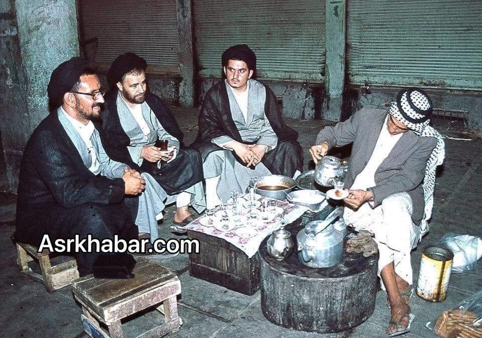 عکس متفاوت از پسر و نوه کمتر شناخته شده امام (ره)