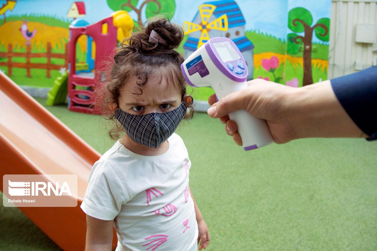 فعالیت مهدهای کودک در دوران کرونا + عکس