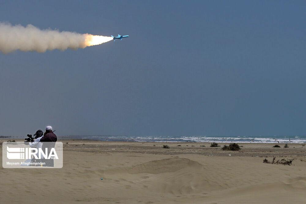 قدرتنمایی موشکهای دریایی ارتش در رزمایش ذوالفقار ۹۹