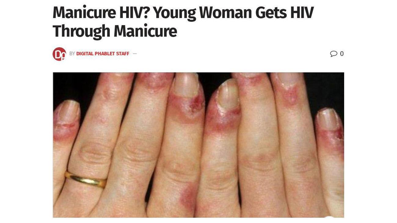 بلای شوم بر سر یک زن در آرایشگاه زنانه / زن جوان ایدز گرفت + عکس