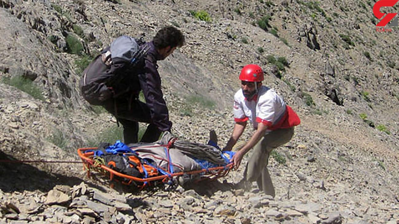 مرگ وحشتناک در کوه سیاه ارسنجان + عکس