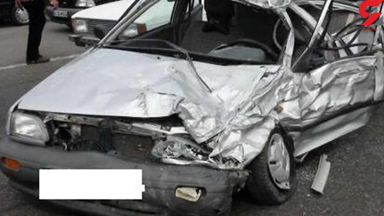 مصدومیت زن اهوازی در سانحه رانندگی