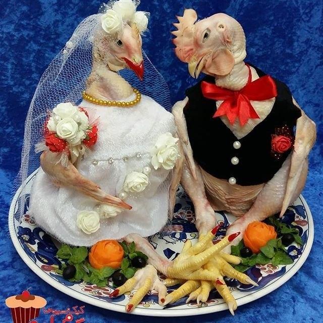 نمونهای تعجب آور از تزئینات یخچال منزل نو عروس! + عکس