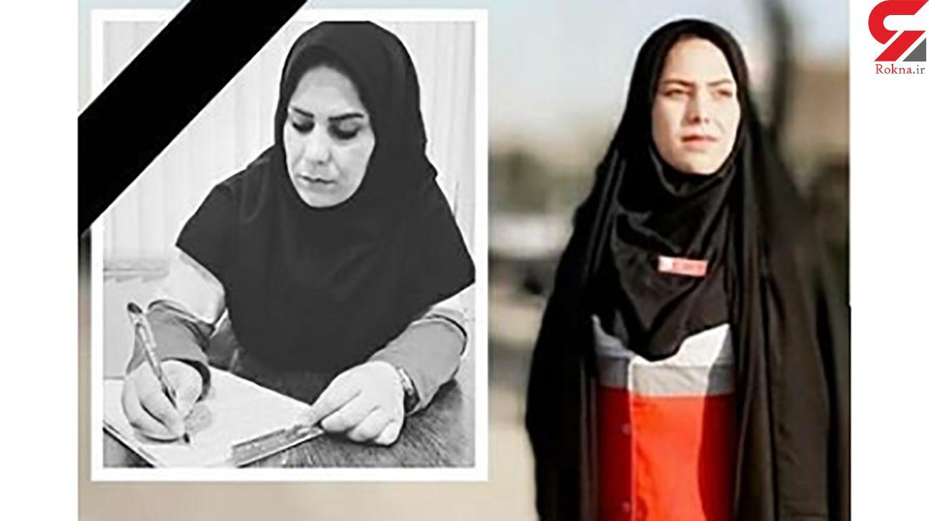 پیام تسلیت رئیس سازمان امدادونجات در پی درگذشت زینب پاکزاد امدادگر هلالاحمر