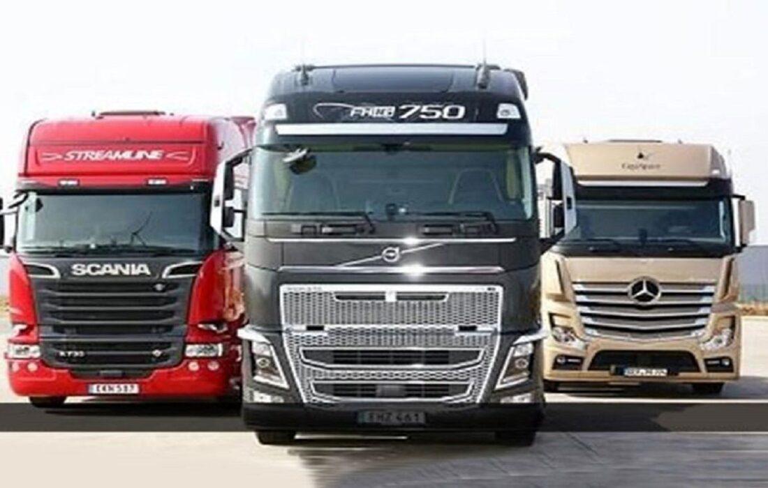 آغاز کار کامیون های اروپایی در چرخه حمل و نقل جادهای