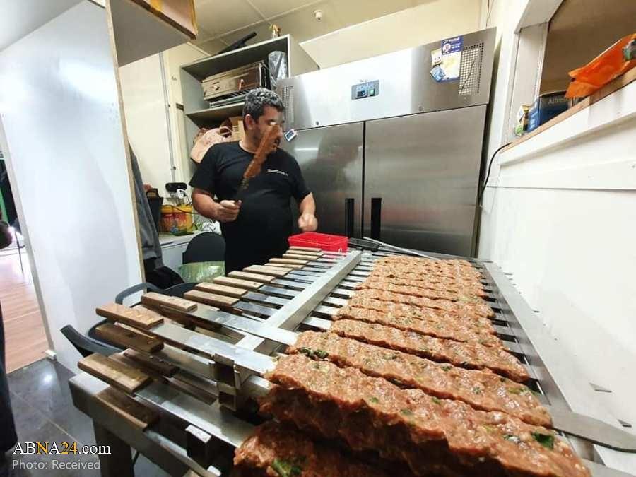 کباب کوبیده غذای نذری محرم در «ملبورن» استرالیا + عکس