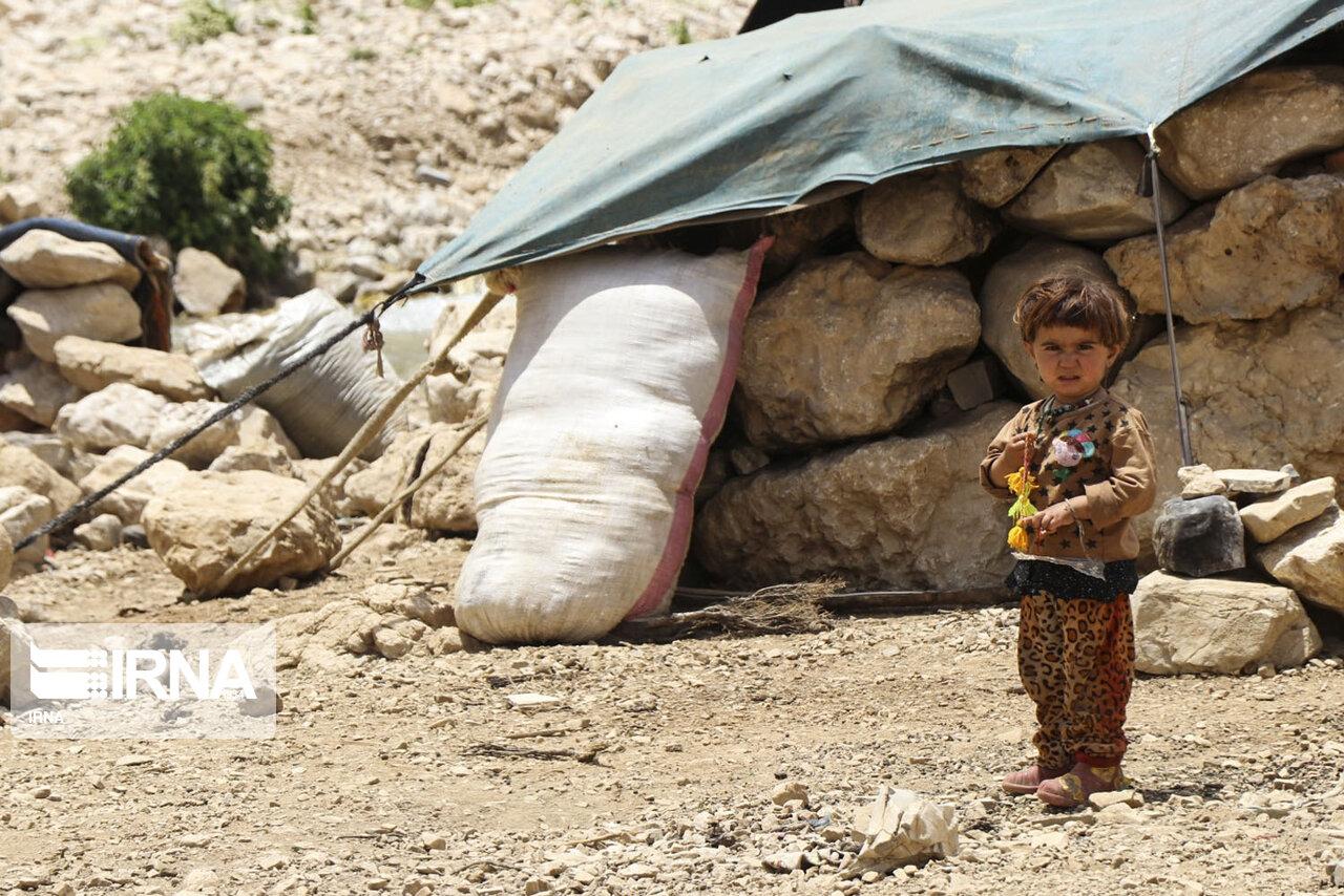 گذران زندگی عشایر بختیاری در مناطق ییلاقی + عکس