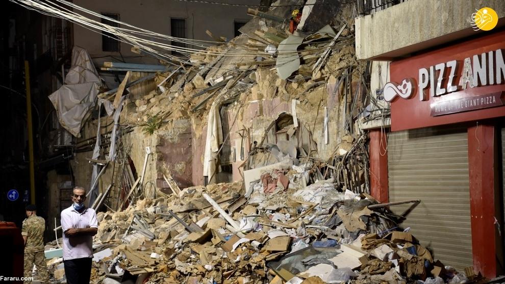 یک ماه پس از انفجار بیروت معجزه ای در راه است؟ + عکس ها