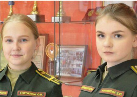 ناگفته هایی از تمرین نظامی دختران در روسیه + عکس