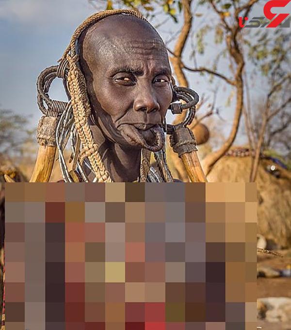 عکس قبایل بومی آفریقا (4)