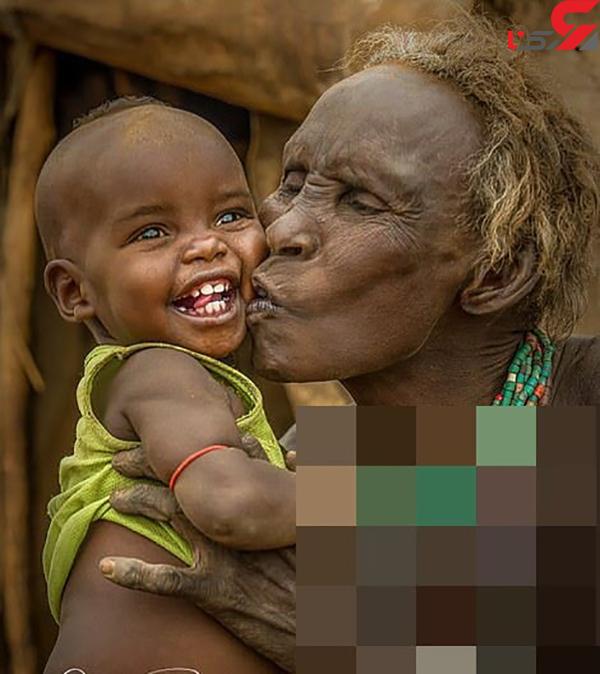 عکس قبایل بومی آفریقا (6)