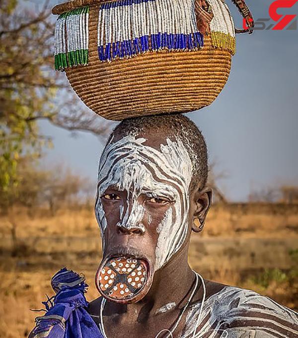 عکس قبایل بومی آفریقا (2)