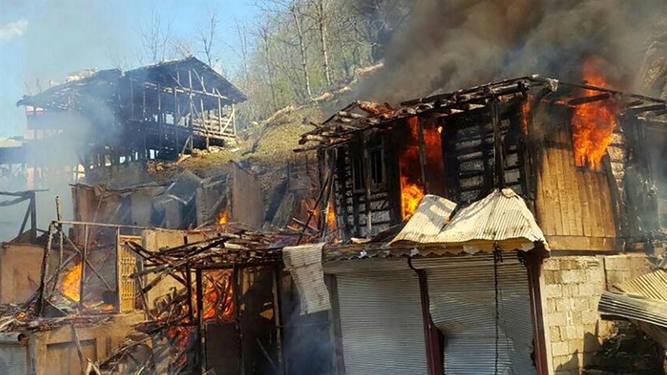اجنه هایی که خانه ها را آتش می زدند / در سراوان چه گذشت؟! + جزییات