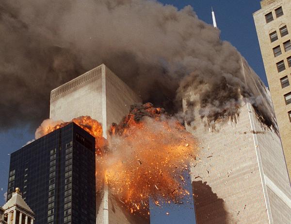 آتش گرفتن ساختمان