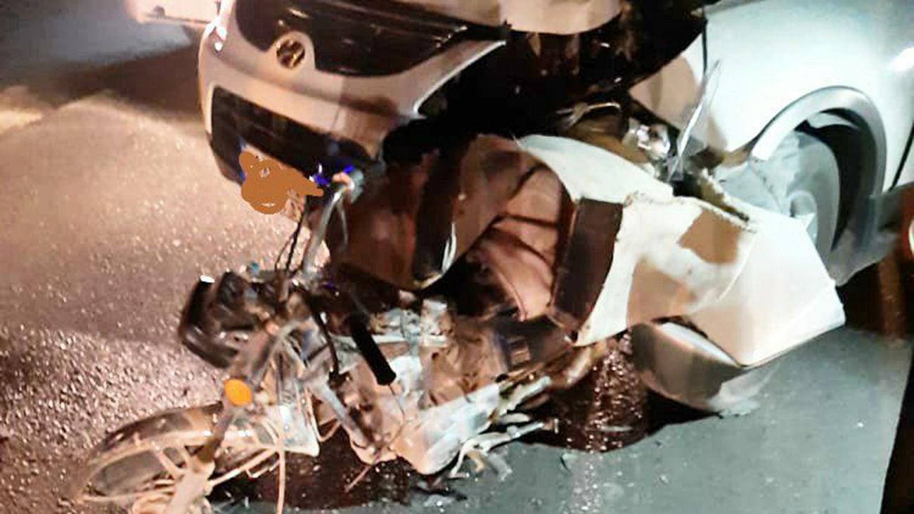 جانباختن یک زوج در حادثه رانندگی