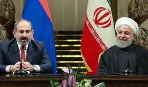 ارتباط تلفنی روحانی با نخست وزیر ارمنستان