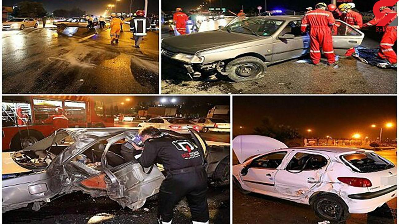 ۲ مرگ دردناک صبح امروز در مشهد + عکس