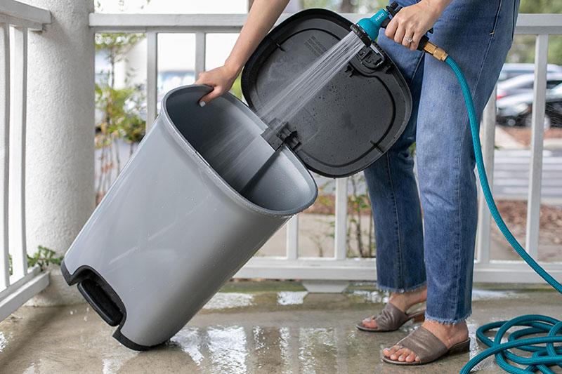 پاکسازی سطل زباله