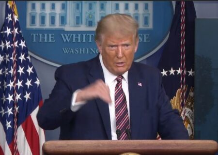 ترامپ: نیازی به انتقال قدرت نیست؛ برندهایم | شوخی نمیکنم؛ باید از بایدن تست مواد مخدر گرفته شود