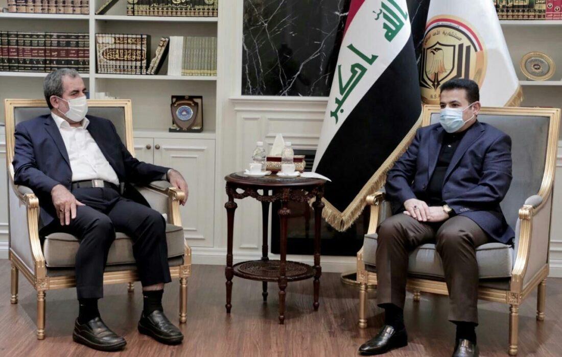 در دیدار معاون ستاد کل نیروهای مسلح ایران با مشاور امنیت ملی عراق چه گذشت؟