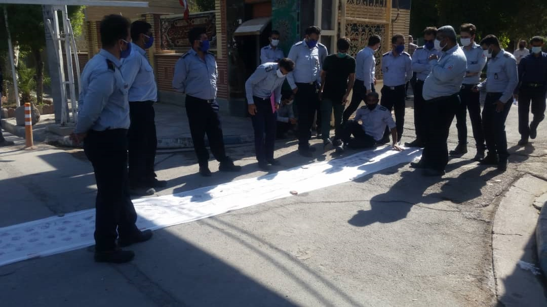 آتش نشانی آبادان تعطیل شد / آتش نشانان اعتصاب کردند + تصاویر