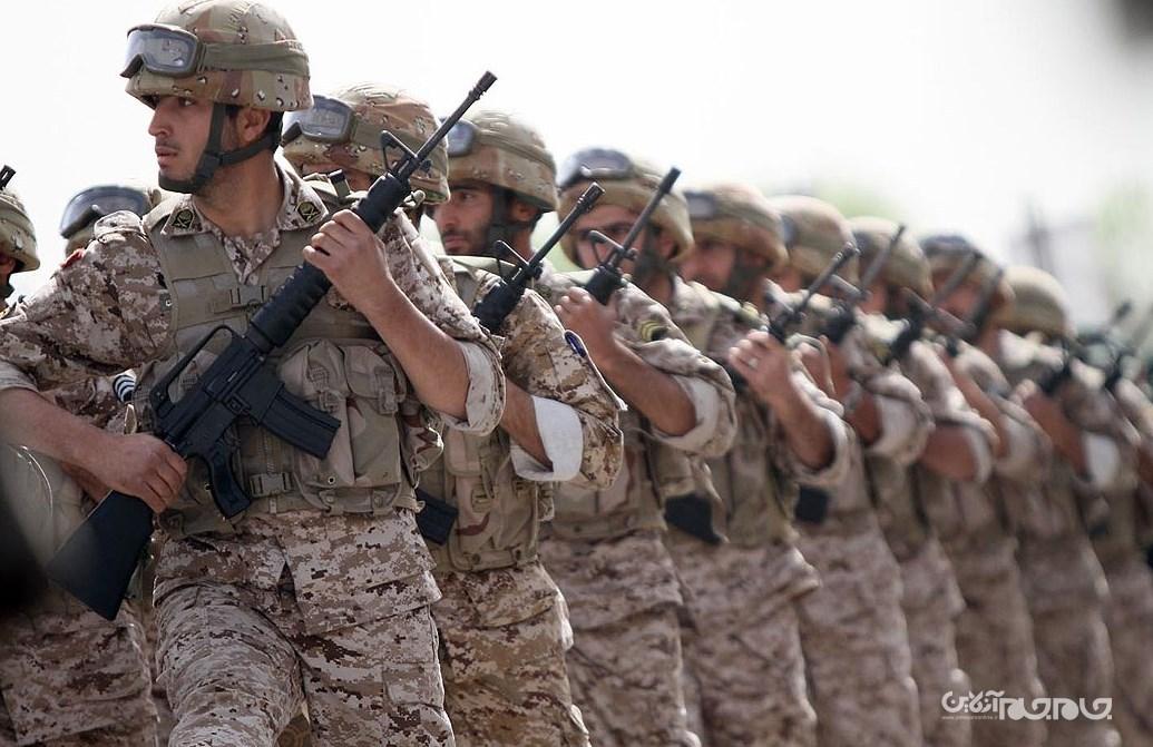 استقرار یگانهایی از نیروی زمینی سپاه در مرز خدا آفرین