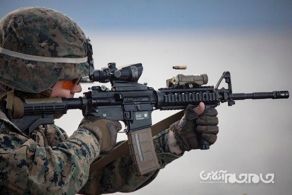 اسلحه انفرادی جدید و مدرن ارتش ایالات متحده با تکنولوژی های پیشرفته تانک و آیفون+عکس