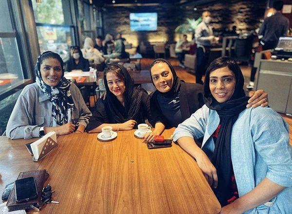 الناز حبیبی در میان زنان قهرمان جهان + عکس