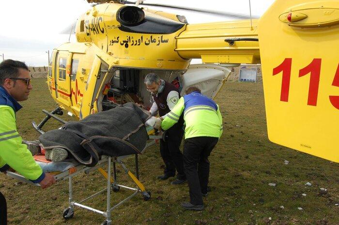 انتقال ۳۲ هزار بیمار و مصدوم بدحال با بالگردهای اورژانس ۱۱۵