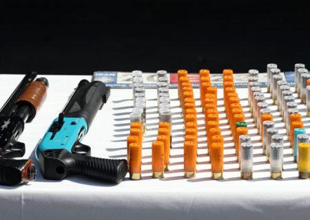 کشف ۱۰۰ قبضه اسلحه مجاز و غیر مجاز از شکارچیان در لرستان